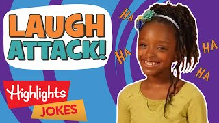 Kids Jokes | Laugh Attack! | 2020 | Highlights Kids