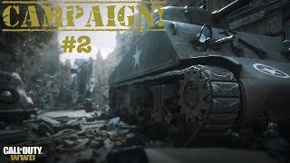 DRIVING SKILL 100% | CALL OF DUTY WW2 CAMPAIGN *PART 2*