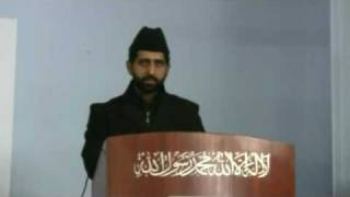 Mohtamim Tarbiyyat's Address - Hafiz Ijaz Tahir Sahib
