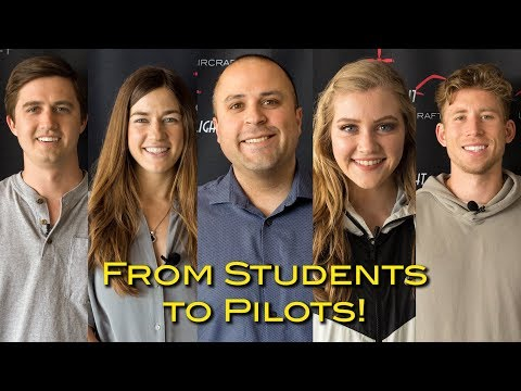 From Students to Pilots!