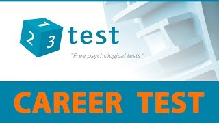 CAREER TEST  What career best fits your personality? Choose your career, job, occupation, profession