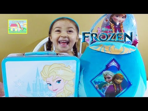 🎁 MEGA FROZEN Surprise Basket Easter Eggs Frozen Fashems Disney Princess Kinder Eggs Shopkins