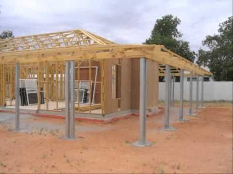 การสร้างบ้านไม้หลังเล็กราคาประหยัด