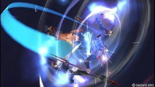 Dissidia 012 [duodecim] Final Fantasy - Online Battle - Tidus / Bartz vs. Kefka / Kain / Zidane