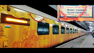 Madurai to Chennai by Tejas Express in Executive Class | Top Class Food and Comfort