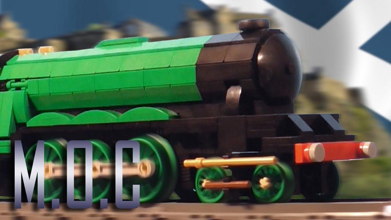LEGO 4472 'Flying Scotsman' (Steam Engine) - MOC Showcase - YouTube