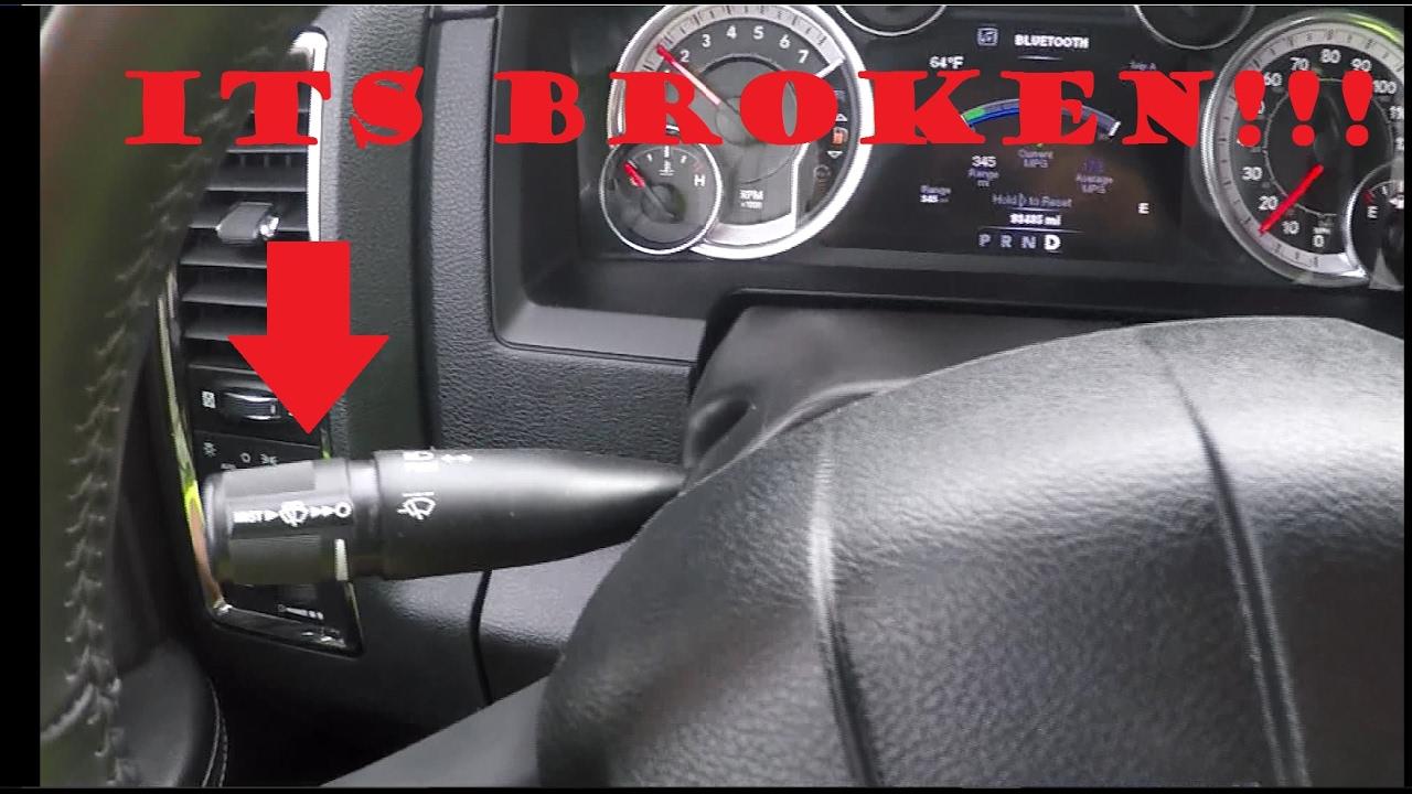 Dodge Ram Turn Signal Switch Repair Fix 2009 2017