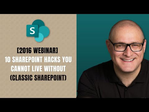 10 SharePoint Hacks you cannot live without