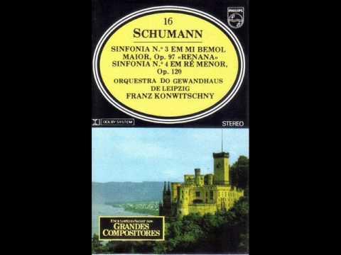 Schumann. Symphonies Nos. 3-4.