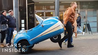 Collector Owns Two Rare Microcars
