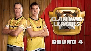 Clan War Leagues 3 Star Attacks Clash of Clans Round 4