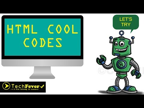 Html Cool Codes