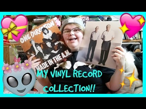MY VINYL RECORD COLLECTION!!