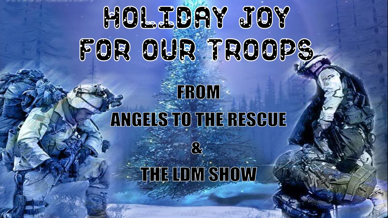 Angels to the Rescue Christmas shout out to the US Military - YouTube
