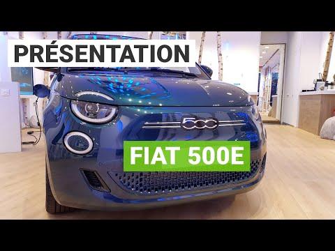 Fiat 500e : découverte de la citadine électrique