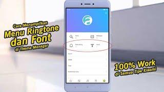 Gambar cover Cara Menampilkan Menu Font dan Ringtone di Semua Tipe Xiaomi