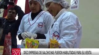 DIEZ EMPRESAS DE SALCHICHAS FUERON HABILITADAS PARA SU VENTA
