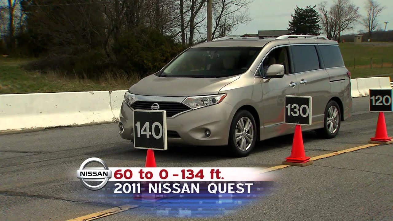 road test: 2011 nissan quest - youtube