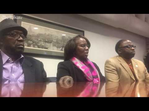 Victim Felicia Sanders talks about Victim Felicia sanders talks about Dylann roof's guilty verdic...