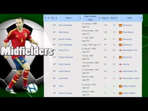 2014 FIFA World Cup Brazil Spain National Football Team - La Roja