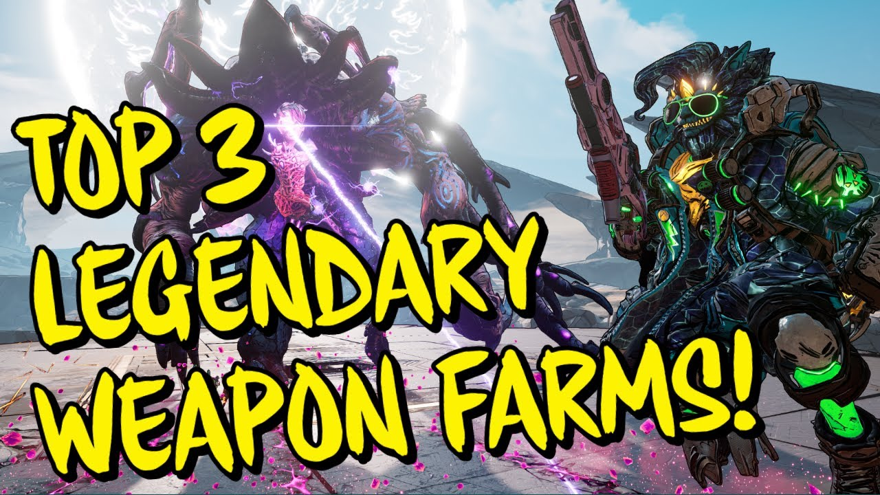Top 3 Level 60 Best Legendary Weapon Boss Farms (Mayhem 10) Borderlands 3
