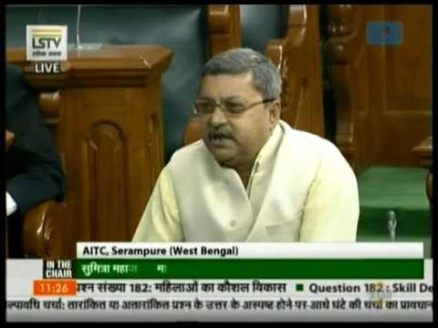 Kalyan Banerjee asks a Supplementary Question on skill development of women