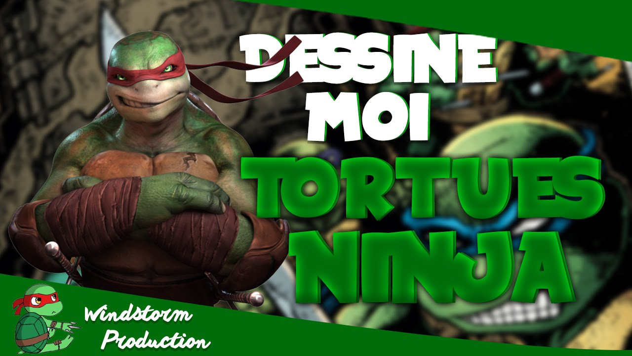 Dessine Moi : Les Tortues Ninja