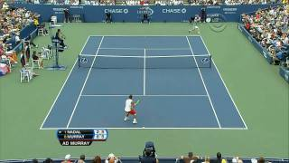 (HD)Nadal vs Murray Us Open 2008 SF