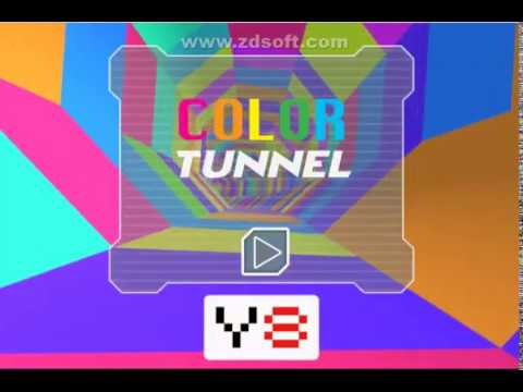 Y8 GAMES COLOR TUNNEL - YouTube