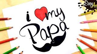 Como hacer una tarjeta dia del padre 3│how to make Father