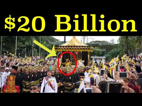One of the RICHEST PEOPLE in the WORLD | Sultan of Brunei