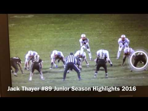 Jack Thayer- JUNIOR Season Highlights 2016