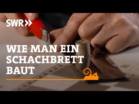 Handwerkskunst: Ein Schachbrett mit Intarsien | SWR Fernsehen