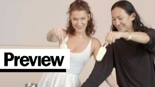 Interview with Alexander Wang and Bella Hadid