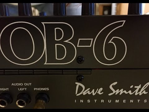 Dave Smith Instruments OB-6 Sound Demo By Synthetic Things
