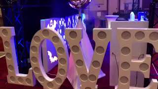 Eliminator Lighting Decor LOVE 2.0 was a HUGE hit at DJEXPO 2018 in Atlantic City