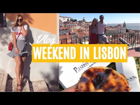 OUR LONG WEEKEND IN LISBON PORTUGAL | Tally & Jack Vlog