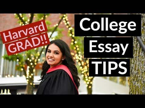 BEST College Essay Tutor (HARVARD GRAD STUDENT SHARES COLLEGE APP TIPS!!)