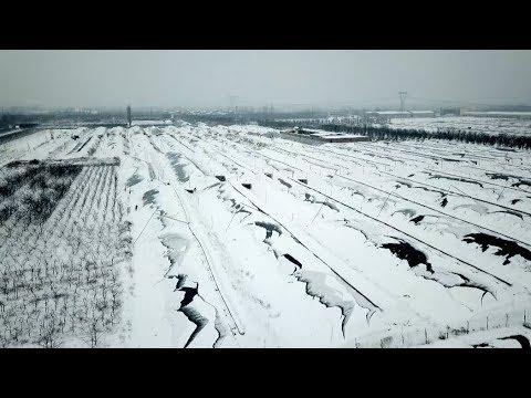 Heavy Snows Hit China's Shanxi Province
