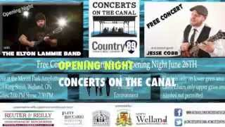Concerts on the Canal: COUNTRY NIGHT