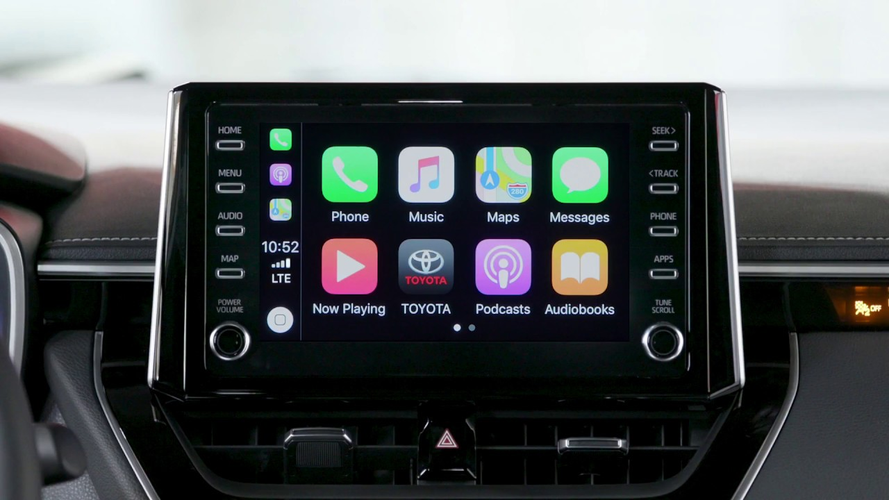 Know Your Toyota Le Carplay How To Connect