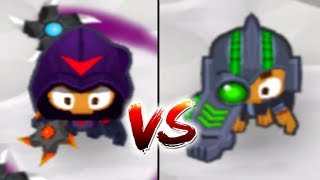 Tier 5 Glaive Lord Boomerang Vs. Perma Charge (Bloons TD 6)