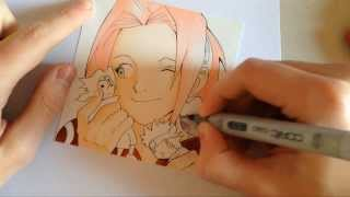How to Draw SAKURA HARUNO