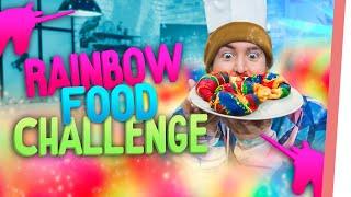RAINBOW FOOD | Kelly & Sturmwaffel backen einen RAINBOW Kuchen