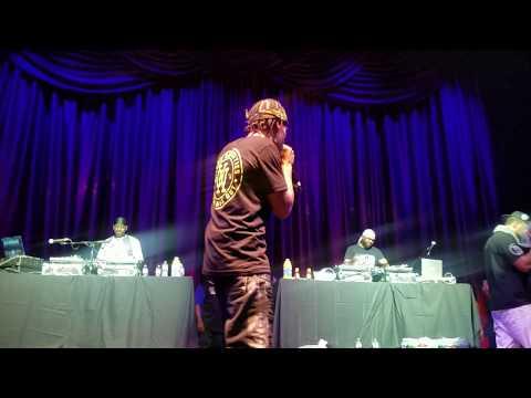 DJ Dice & DJ Allah Mathematics set LIVE W/Mef & Red 7/6/18