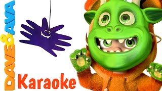 Halloween Finger Family Song - Karaoke! | Daddy Finger Collection from Dave and Ava Baby Songs