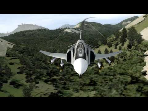 F-4B Phantom II, full combat mission tryout.