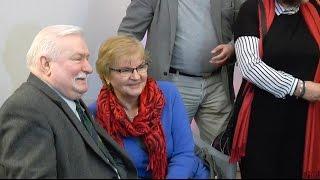 Lech Wałęsa w Olsztynie