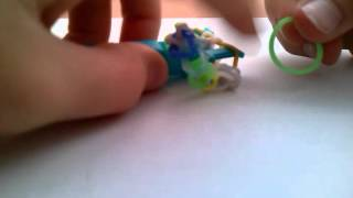Видеоурок плетения из резинок браслет