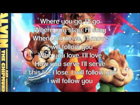 Alvin & The Chipmunks - I Will Follow Chris Tomlin